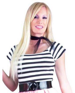 50s Short Sleeve Womens Plus Top