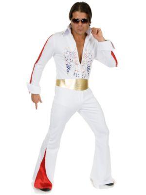 Adult Plus Size Rhinestone Rockstar Costume