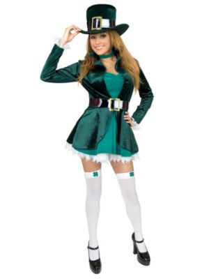 Sexy Leprechaun Womens Plus Size Costume