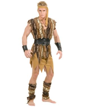 Caveman Hunk Plus Size Adult Costume