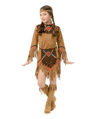 Костюм индейца своими руками для девочек фото