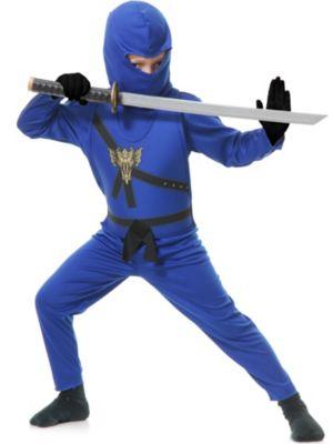 Child Blue Ninja Avenger Costume