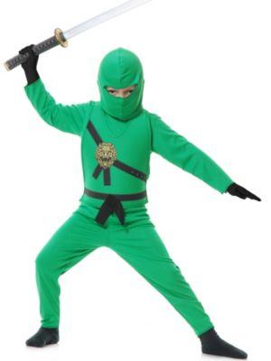 Child Green Ninja Avenger Costume