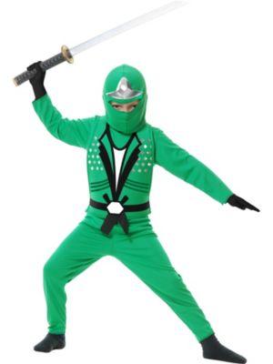 Child Green Ninja Avengers Series II Costume