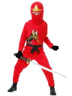 Child Red Ninja Avengers Series II Costume