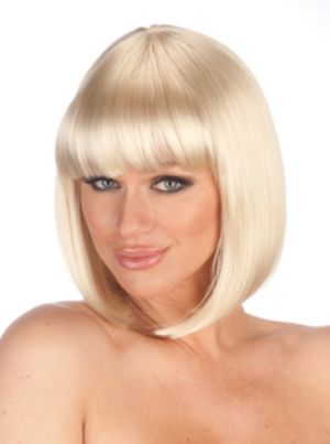 Deluxe Sunny Blonde Charm Wig Adult
