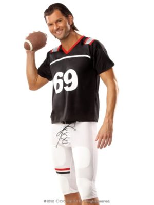 Adult Male Football Player Costume