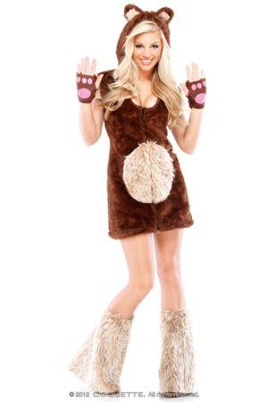 Adult Sexy Teddy Bear Costume
