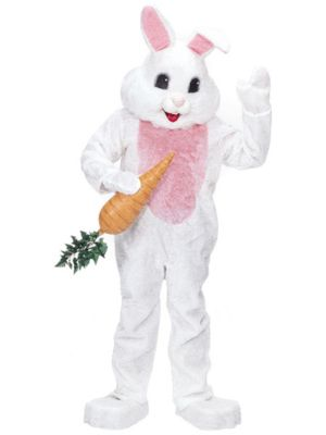 White Rabbit Premium Mascot Costume
