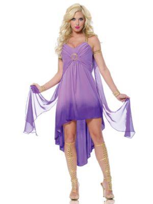 Adult Purple Roman Goddess Costume