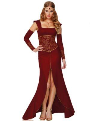 Sexy Adult Medieval Princess Costume