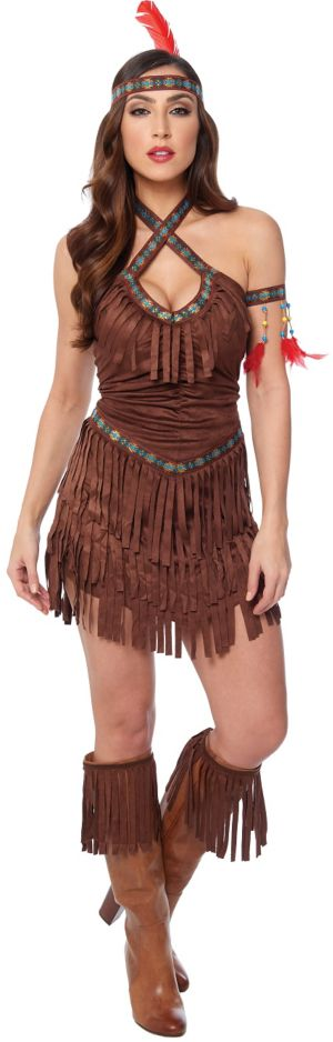 Sexy Adult Native American Maiden Costume