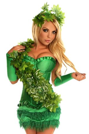 Adult Green Poison Ivy Costume