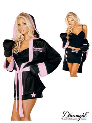 Adult Boxer Girl Costume