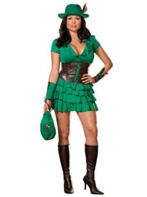 Plus Size Robyn Da Hood Costume for Adult