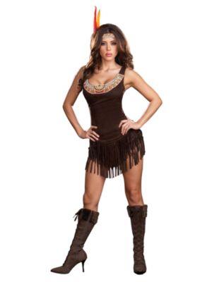 Sexy Pocahottie Womens Costume