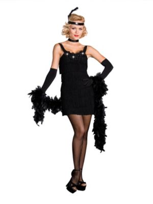 Adult Sexy All That Jazz Flapper Costume