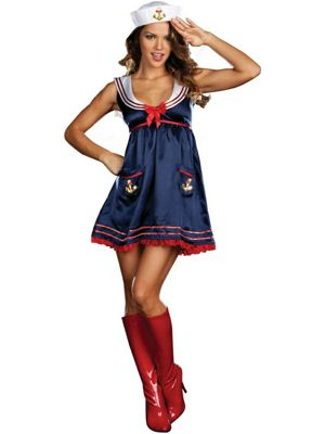 Adult Sexy Sailor Mine Costume