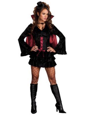 Adult Sexy Bella Vamp Vampiress Costume
