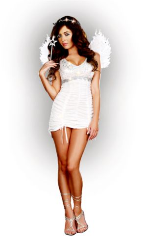 Adult Knockin on Heaven's Door Angel Women's Costume