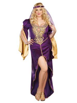 Adult Plus Size Queen of Thrones Renaissance Costume