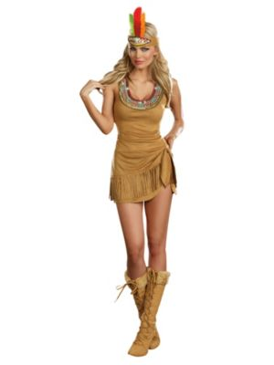 Adult Queen of the Tribe Indian Costume