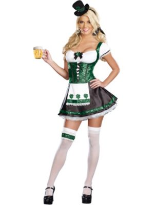 Sexy Adult Lady Luck Costume