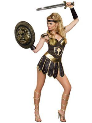 Sexy Adult Queen of Swords Warrior Costume