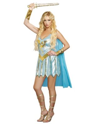 Sexy Adult Dragon Warrior Queen Costume