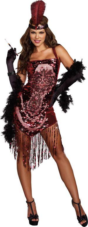 Sexy Adult Gatsby Girl Costume