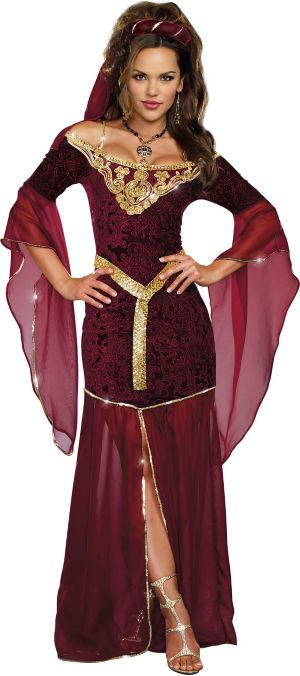 Sexy Adult Medieval Enchantress Costume