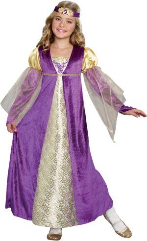 GIRLS ROYAL PRINCESS COSTUME