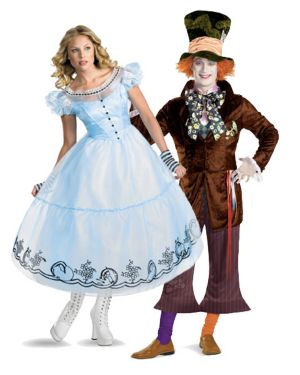 Alice in Wonderland Women's Alice Movie Costume
