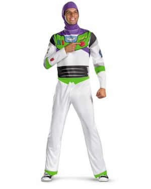 Classic Toy Story Buzz Lightyear Adult Costume
