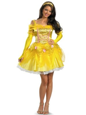 Adult Sassy Disney Belle Costume