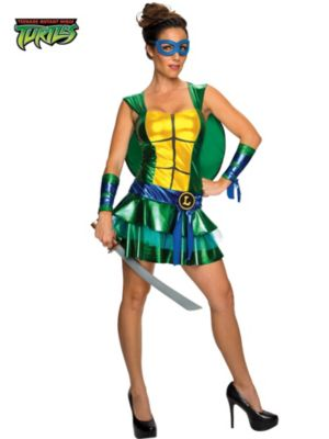 Adult  Sassy Deluxe Teenage Mutant Ninja Turtles Leonardo Costume