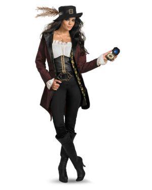 Adult Prestige Pirates of the Caribbean Angelica Costume