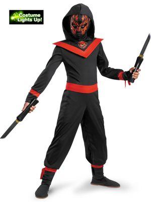 Child Neon Ninja Costume