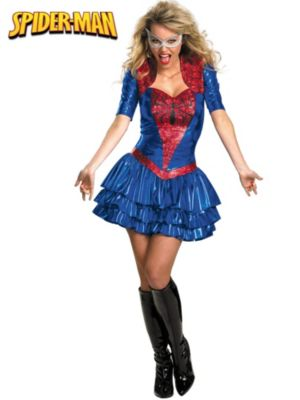 Adults Deluxe Sassy Spider-Girl Costume