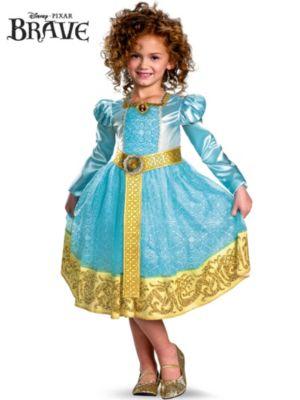 Child Disney Pixar's Deluxe Brave Merida Costume