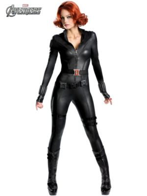 Women's Theatrical Quality Avengers Black Widow Costume