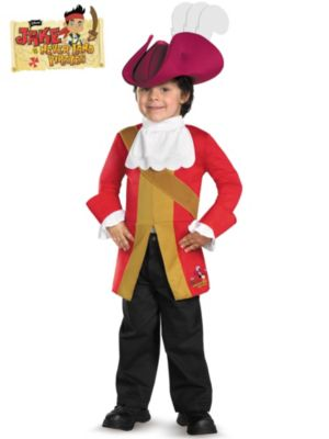 Captain Hook Jake and the Neverland Pirates Costume