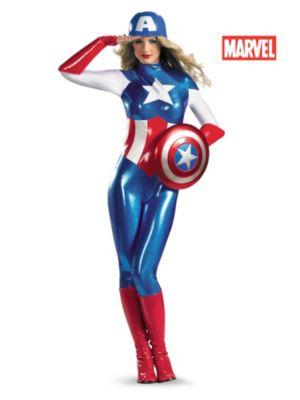 Marvel American Dream Bodysuit Adult Costume