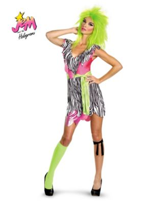 Jem and the Holograms Pizzaz Deluxe Adult Costume