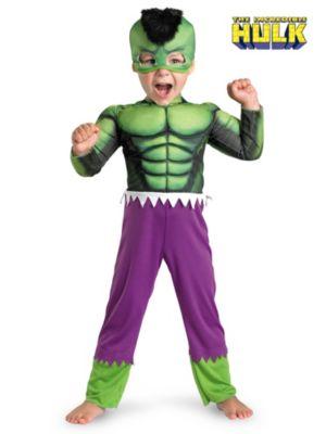 Toddler Muscle Hulk Costume