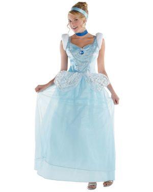 Womens Deluxe Disney Cinderella Costume