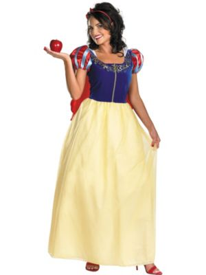Womens Snow White Deluxe Disney Costume
