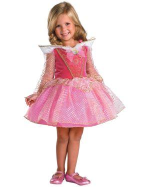 Disney Ballerina Aurora Girls Costume