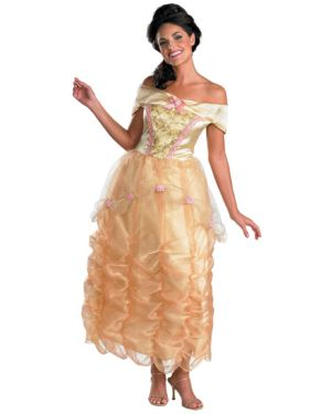 Deluxe Belle Disney Adult Costume