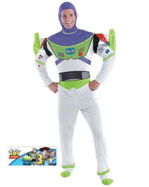 Deluxe Toy Story Buzz Lightyear Mens Costume